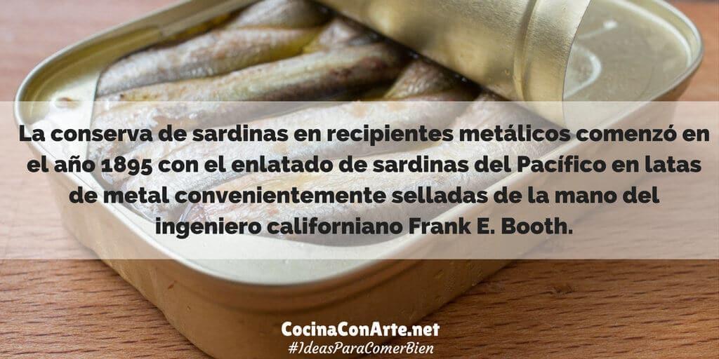 Origen sardinas en conserva