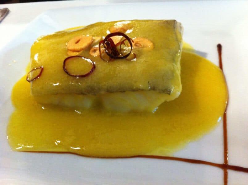 El pil-pil es un guiso de pescado o marisco, aunque su preparación más famosa es con bacalao.