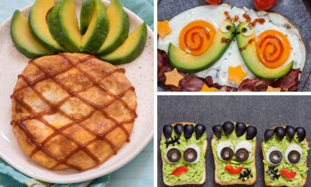 Platos con aguacate para niños: 3 recetas fáciles y muy divertidas