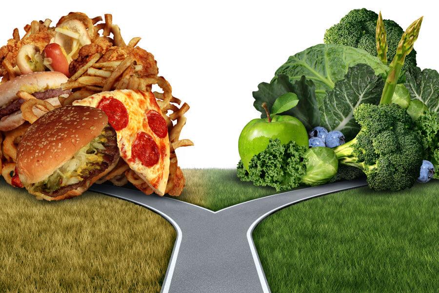 Elegir bien lo que comemos es fundamental porque no todo lo que comemos nos alimenta