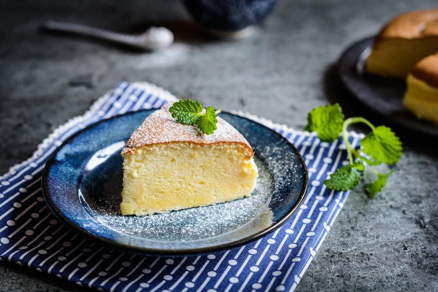 pastel de queso japones receta