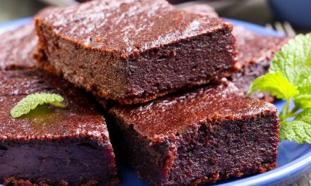 Brownies de chocolate y calabaza [Receta fácil]