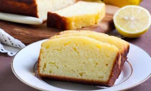 Bizcocho de yogur y limón [Receta fácil]