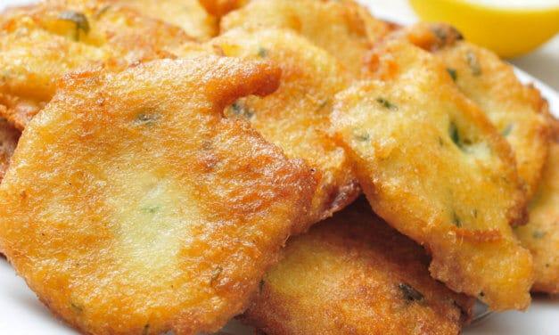 Tortitas de bacalao [Receta española fácil]