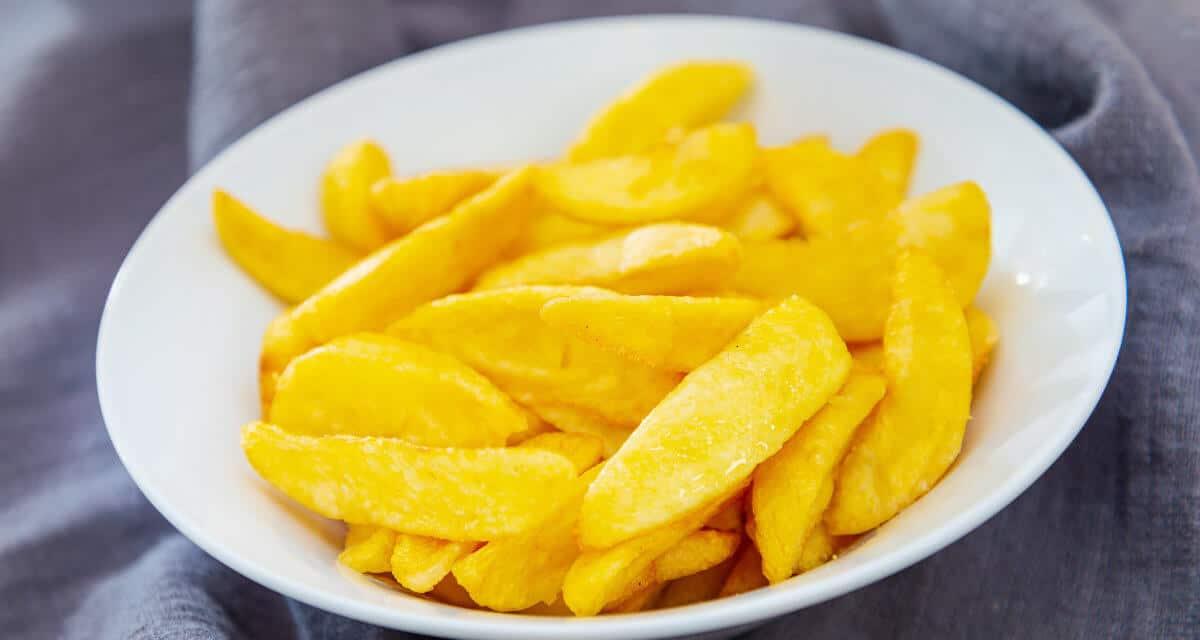 Cómo hacer patatas fritas saludables