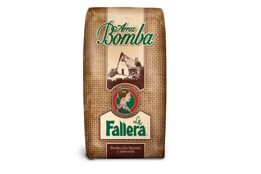arroz bomba la fallera especial para hacer paella valenciana