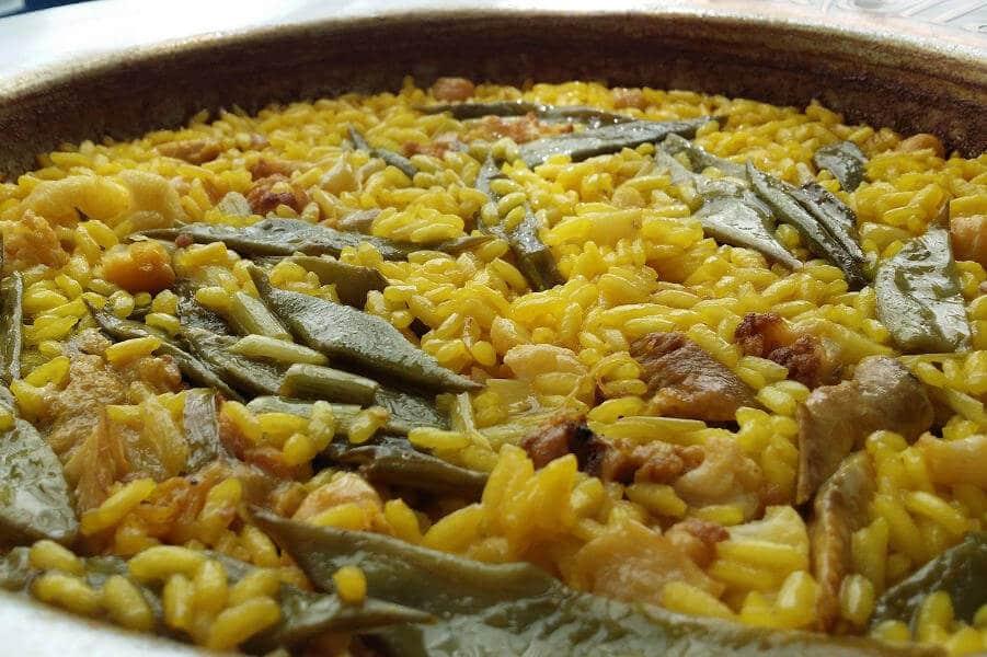 autentica paella valenciana tradicional receta