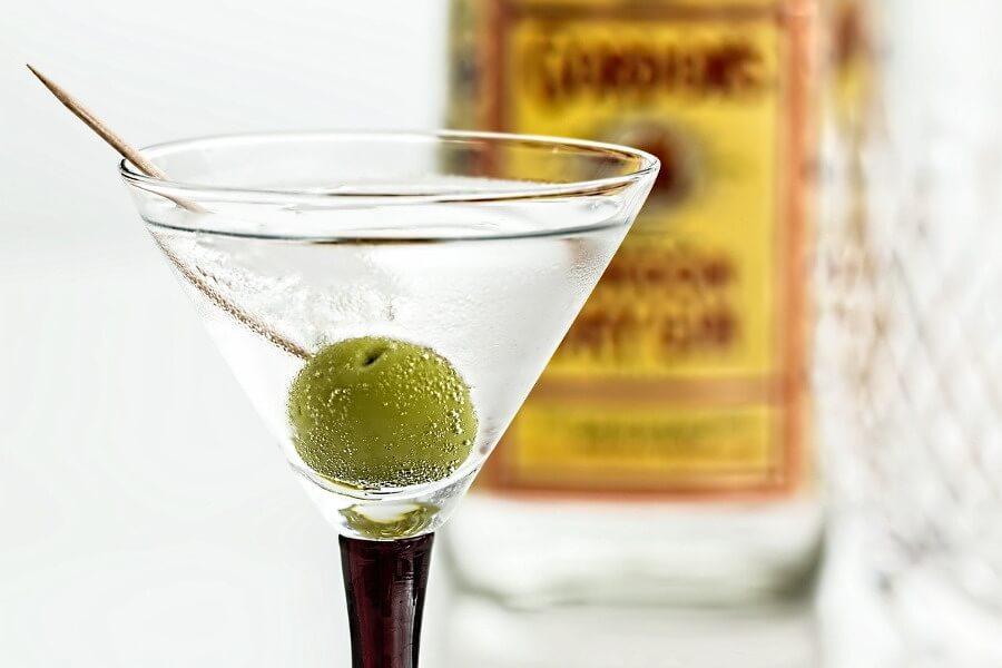 dry martini - martini seco - gin martini