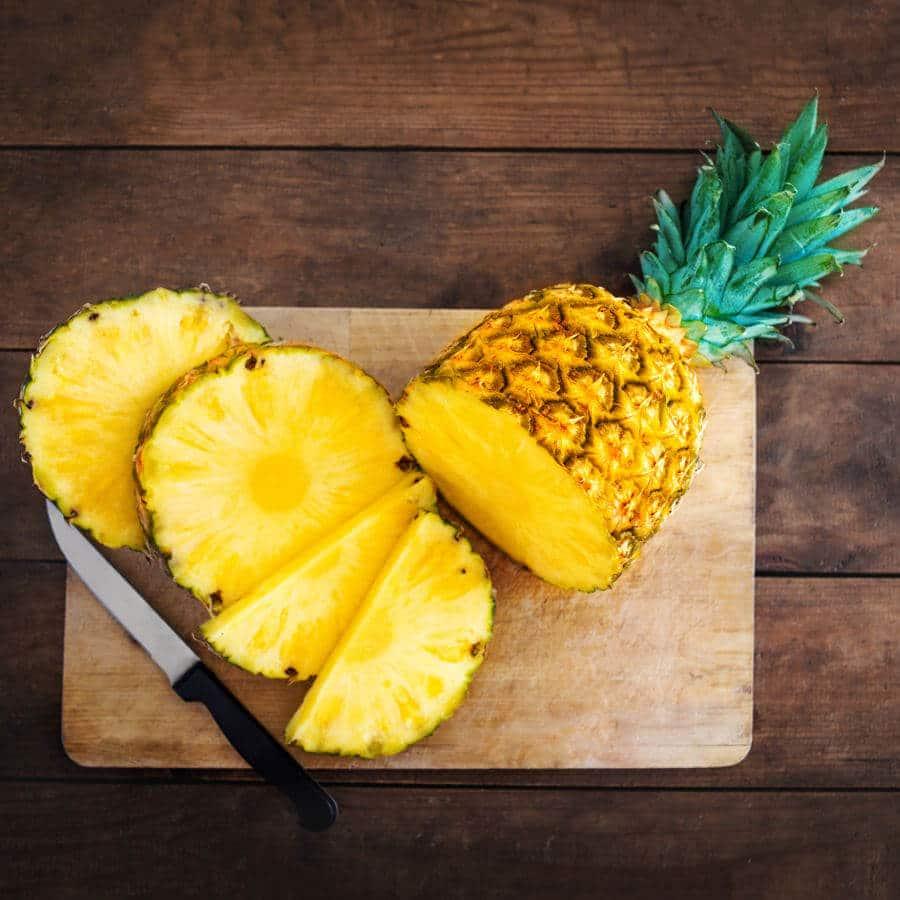 Piña alimento con alto valor nutricional