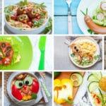 Recetas fáciles para niños: 9 ideas divertidas y originales de platos saludables