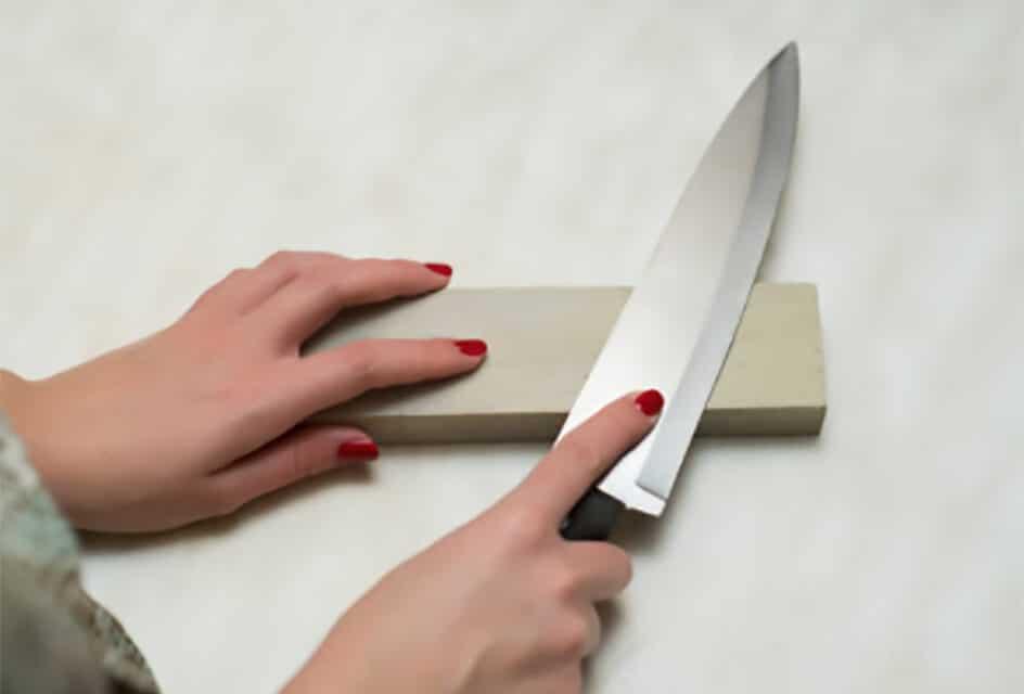 ¿Cómo afilar cuchillos de cocina?
